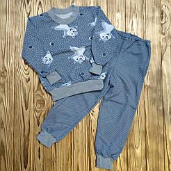 Пижама детская с начесом Step-trade 72 (8-9 лет)