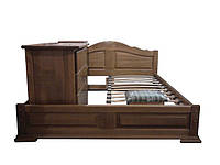 Набор: кровать, комод, две тумбы и пуф