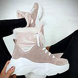 Ботинки с мехом, фото 3