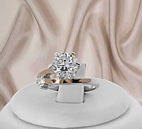 """Женское серебряное кольцо с белыми фианитами """"310"""", фото 1"""