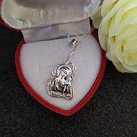Серебряная икона Казанской пр. Богородицы 925 пробы
