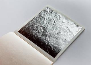 Сусальное серебро (лист)