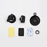 Автомобильный держатель для телефона магнитный HOCO CA28  Черный, фото 2