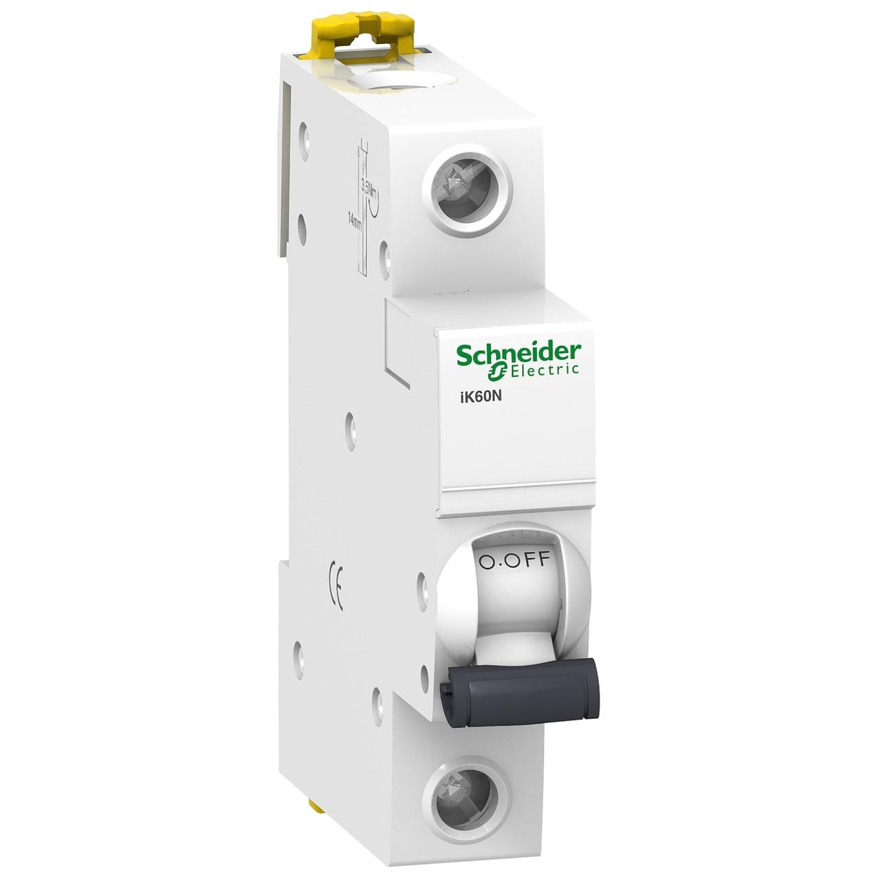 Авт. вимикач Schneider Electric Acti 9 iK60 1p 6A C 6kA A9K24106