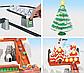"""Детская железная дорога Power Train 21816 """"Рождественский поезд"""", 732 см , фото 4"""