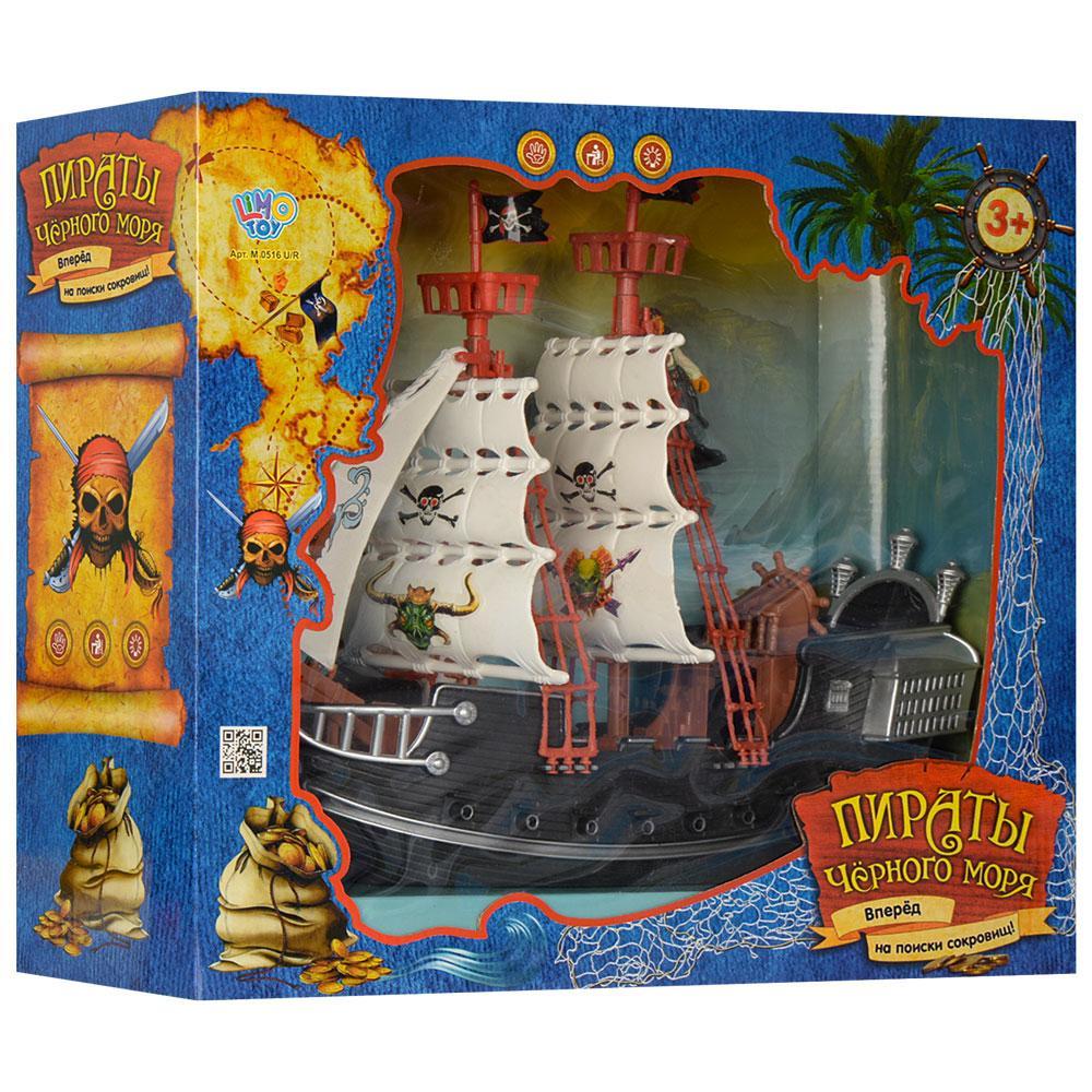 """Игрушечный пиратский корабль """"Пираты Черного моря"""" Limo Toy M 0516 U/R"""