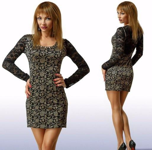 Платье женское стрейчевое