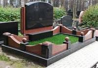 Изготовление комбинированных  памятников на двоих, фото 1