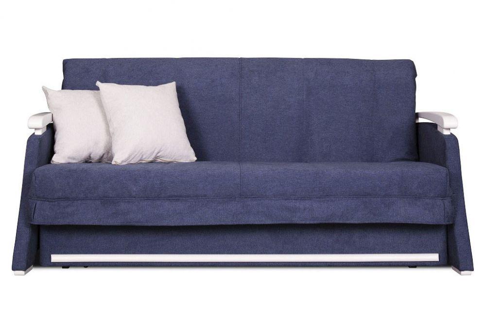 Синій диван - ліжко акордеон Марсель від 0,7 м до 2м Константа
