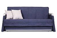 Синій диван - ліжко акордеон Марсель від 0,7 м до 2м Константа, фото 1