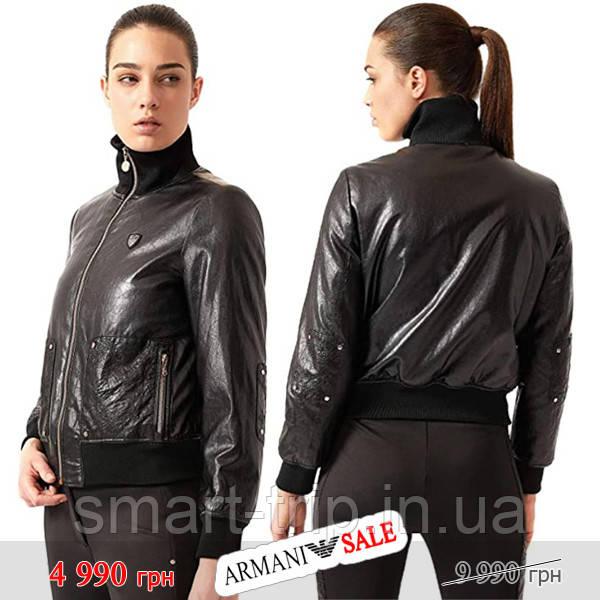 Куртка бомбер женская Emporio Armani EA7 M черная sale (6ZTB30-TNH1Z-1200-sale-M)