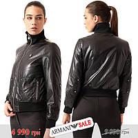 Куртка бомбер женская Emporio Armani EA7 M черная sale (6ZTB30-TNH1Z-1200-sale-M), фото 1