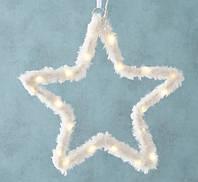 "Новогодняя подвеска ""Звезда"" LED лента 55 см (2xAA 1.5V) Гранд Презент 2005353"