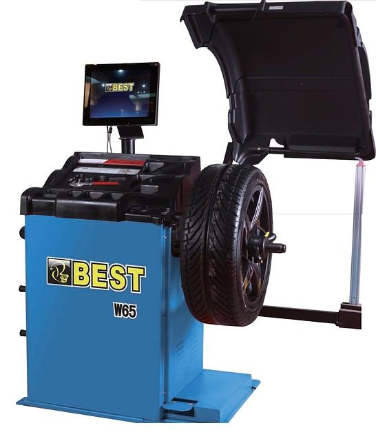 Балансировочный станок Best W65 с монитором
