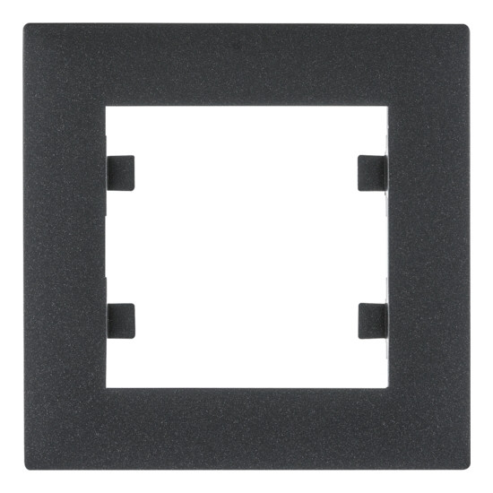 Рамка 1X, Lumina-Intens черная