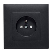 Рамка 1X, Lumina-Intens черная, фото 3