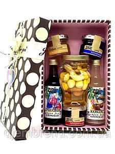 Подарунковий набір з сиропами і джемом
