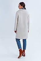 Пальто женское демисезонное Джил светло-бежевый цвет, фото 3