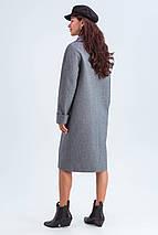 Пальто женское демисезонное Деми черно-белый цвет, фото 3
