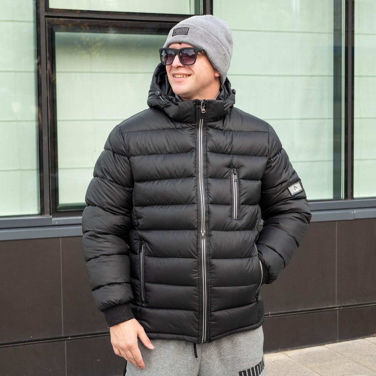 Мужские куртки зимние    от производителя  50-58  черный