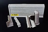 Плинтус напольный Идеал Система 294 Орех антик
