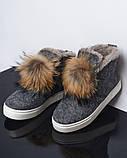 Ботинки войлок, фото 2