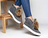 Ботинки войлок, фото 3