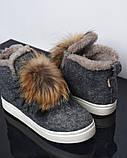 Ботинки войлок, фото 4