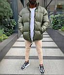 😜 Куртка - Мужская куртка оливковая дутая, фото 6
