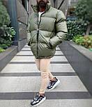 😜 Куртка - Мужская куртка оливковая дутая, фото 2