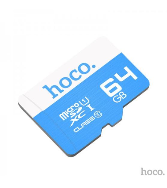 Карта памяти micro HOCO 64GB Синий