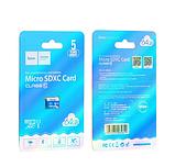 Карта памяти micro HOCO 64GB Синий, фото 3