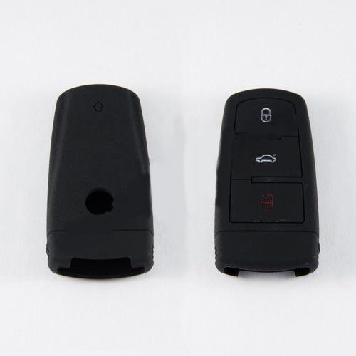 Силиконовый чехол для автомобильного ключа Mazda black
