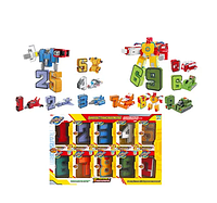 Детская игрушка Цифровые Трансформеры YB188-4E 10 штук в наборе