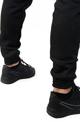 Комплект Куртка чоловіча Зимова Найк + утеплені штани. Барсетка Nike і рукавички в Подарунок., фото 3