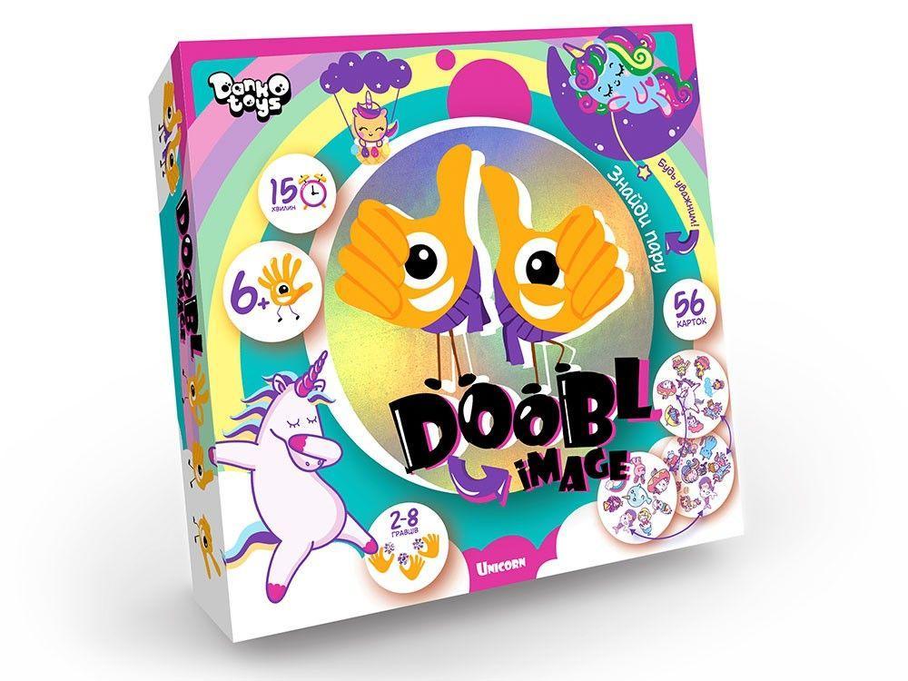 """Настольная игра """"Doobl image: Unicorn"""" укр DBI-01-04U"""