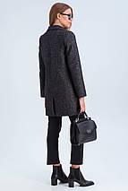 Полупальто женское демисезонное Шейла черный цвет, фото 3