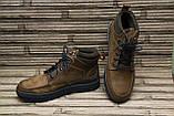 Мужские кожаные ботинки Differente (Италия). Осенние ботинки зимние утепленные шерстью. 42, фото 4