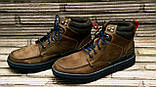 Мужские кожаные ботинки Differente (Италия). Осенние ботинки зимние утепленные шерстью. 42, фото 5