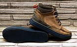 Мужские кожаные ботинки Differente (Италия). Осенние ботинки зимние утепленные шерстью. 42, фото 6