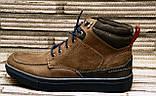 Мужские кожаные ботинки Differente (Италия). Осенние ботинки зимние утепленные шерстью. 42, фото 8