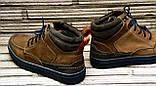 Мужские кожаные ботинки Differente (Италия). Осенние ботинки зимние утепленные шерстью. 42, фото 7