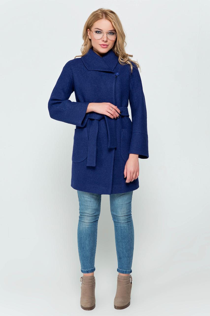 Пиджак женский зимний Эйми синий цвет