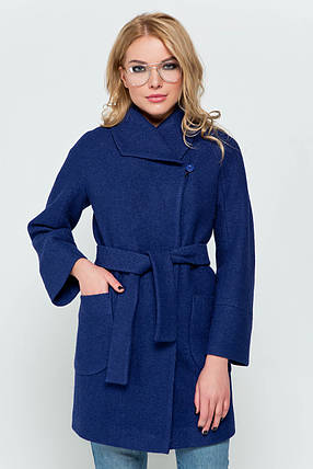 Пиджак женский зимний Эйми синий цвет, фото 2