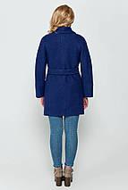 Пиджак женский зимний Эйми синий цвет, фото 3