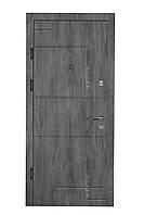 Двери входные металлические Булат К4 850*2050/950*2050 166 Дуб Шале Графит/ Дуб Шале Седой