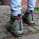 """Зимові кросівки Nike Air Max 95 Sneakerboot """"Хакі"""", фото 3"""