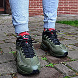 """Зимові кросівки Nike Air Max 95 Sneakerboot """"Хакі"""", фото 7"""