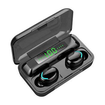 Бездротові навушники Primo F9 Bluetooth V5.0 з мікрофоном - Black