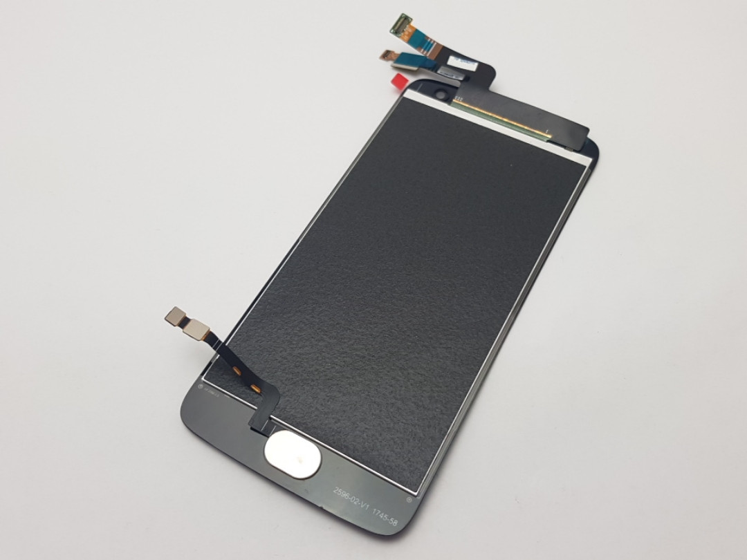 Дисплей Motorola G5 Plus XT1685 модуль черный Сервисный оригинал